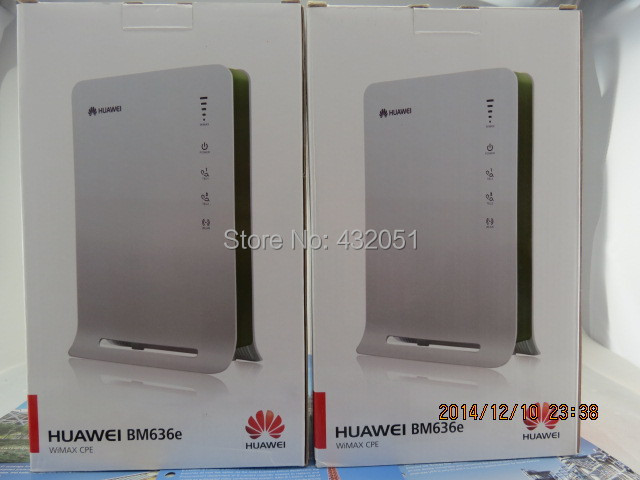 Huawei BM636e WiMAX CPE Router huawei bm 635 indoor cpe wimax router supports web ui configuration tool