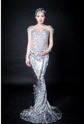 Queen Mermaid  Pregnant Photo Studio Photography Clothing Camera Perspective Maternity Wedding Dress For Pregnant Women Dress 1pc 150w 220v 5500k e27 photo studio bulb video light photography daylight lamp for digital camera photography