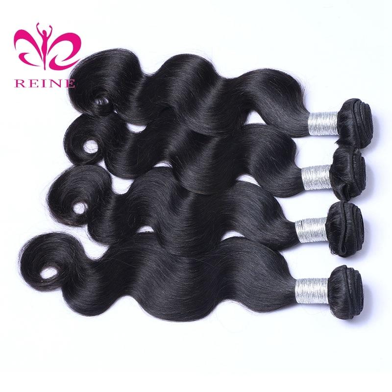 Βραζιλιάνικες δέσμες σωμάτων κύματος - Ανθρώπινα μαλλιά (για μαύρο) - Φωτογραφία 4