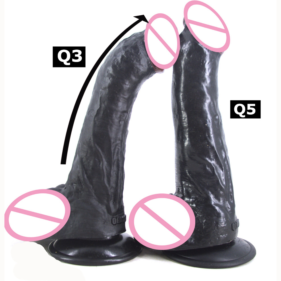 Dildo realistic big dildo with suction cup artificial penis black dildo dick adult sex products women masturbate flirting toys novelty adult toys silicone suction cup dildo animal artificial realistic penis dick sex products anal plug dildos for women