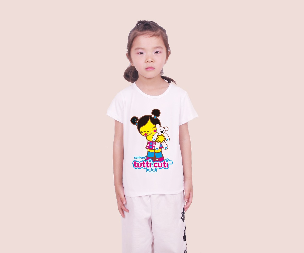 La MaxPa 2018 summer tutti cuti Animals show MOE style pucca kids tops tee children t-shirt short sleeve S41108 ...