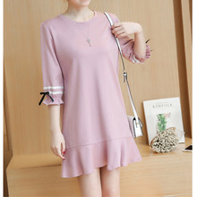 2016 Autumn Summer Maternity clothing clothes for pregnant women Casual maternity dress pregnant women dresses E592