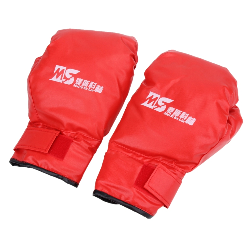 2 style Professional Boxing Gloves MMA Muay Thai Gym Punching Bag Breathable Half/Full Mitt Training Sparring Kick Boxing Gloves 18