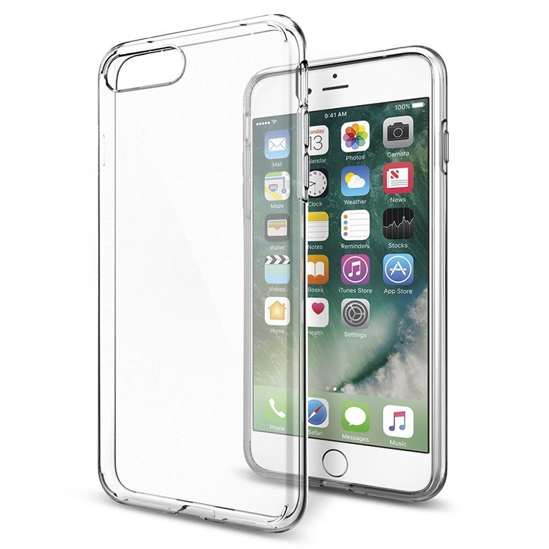 Ultra Thin Soft TPU Transparent Case For iPhone 5 5S SE 6 6S Plus 7 Plus 8 8Plus X Clear Silicon Back Cover Phone cases shell ...