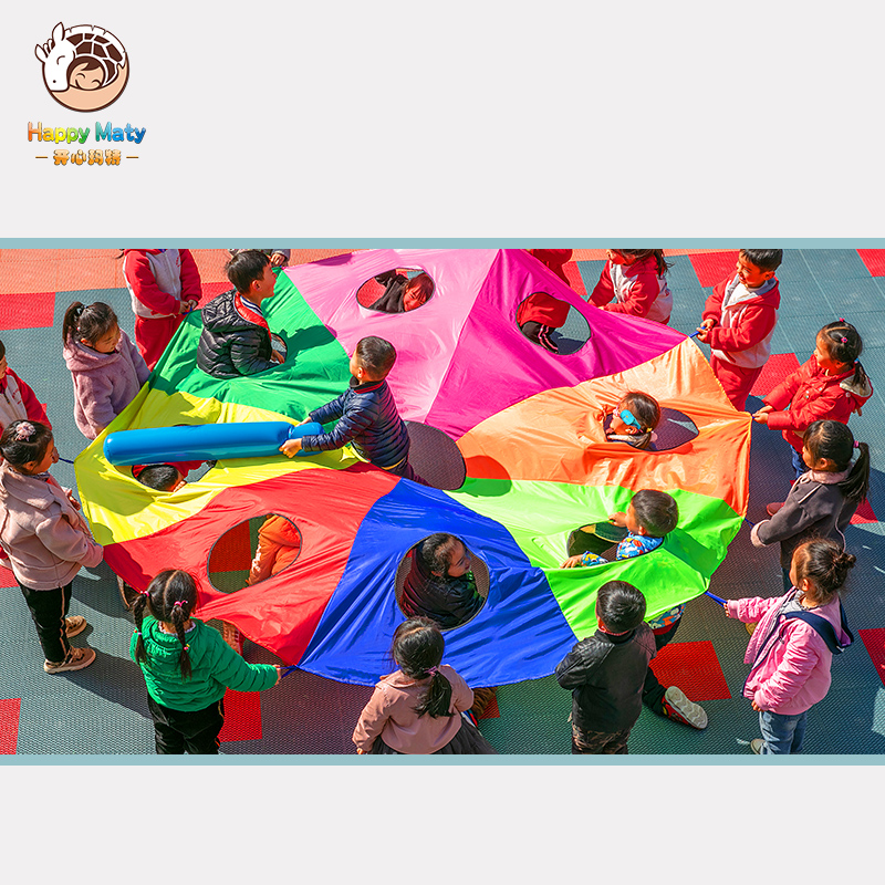 Kindergarten Whac A Mole Rainbow Umbrella Prachute Toy Parent child Activities Game Props Children Kids Outdoor Fun Sports Toy in Toy Sports from Toys Hobbies