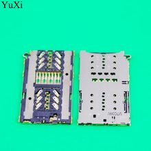 YuXi Sim Card Reader connector socket slot module for Samsung S7 G930A G930F G930 & S7 EDGE G935 G9300 G9350 G935F Holder Tray(China)