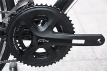 shimano FC-5800 105 11 SPD Speed Road Double Crankset 50X34 53 39 170 172.5 Cycling Silver black with BBR60