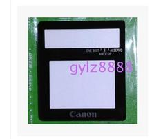 2PCS New LCD Screen Window Display (Acrylic) Outer Glass For CANON 350D EOS350D Screen Protector + Tape