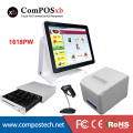 Nice white POS system 15 inch Touch Screen Billing Machine/All in One POS/ Restaurant Cash Register with Free Shipping