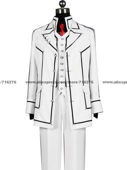 Vampire Knight Boy Night Cosplay Uniforme de Halloween con brazalete incluido.