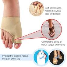20pairs Hallux Valgus Bunion Corrector Orthopedic Supplies Toe Separator Thumb Adjuster Pedicure Sock Foot Care Pedicure Tools