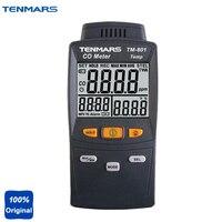 LED Подсветка Угарный газ тестер co детектор tm801