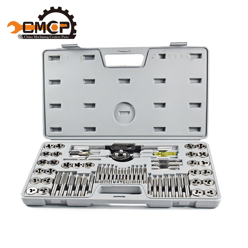 1 set 60pcs tap and die sets Metric tap metric die for metal working hand tools Aggregate tap&die цена