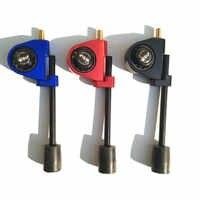 アーチェリーボウストリング停止ブラケットサプレッサスタビライザーバランス調整可能レベルコンボ文字列停止ブラケット振動サイレンサー