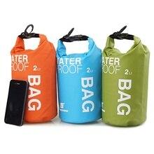2L Outdoor Waterproof Bag Ultralight Traveling Rafting Bag Camping Dry Bags Portable