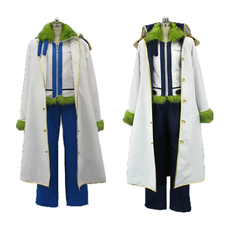 One Piece Smoker Cosplay Costume Admiral Fujitora Cosplay ...