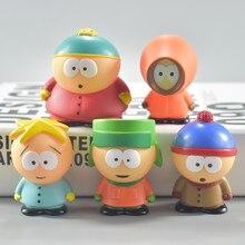 5pcs/set 5cm South Park 2018 Mini PVC Action Figure Toys Dolls New Free Shipping model building