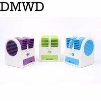 DMWD USB Portátil de Refrigeración Ultra silencioso Aromaterapia acondicionador No Deja ventilador del Aire Acondicionado Mini Ventilador Ventilador ventilador condicionado