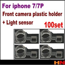 100set for iphone 7 7 plus 4.7 5.5 Replacement Part Facing Camera Bezel Front Camera Plastic Holder