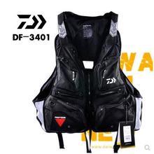 Хорошее качество, профессиональный спасательный жилет DAIWA, Рыболовный Жилет, рыболовная куртка, рыболовные снасти, DF-3401, плавающий жилет