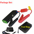 Classic Style Gasoline Diesel Car Jump Starter Battery Charger Emergency 9900mAh 12V Mobile Phone Power Bank SOS Police Light