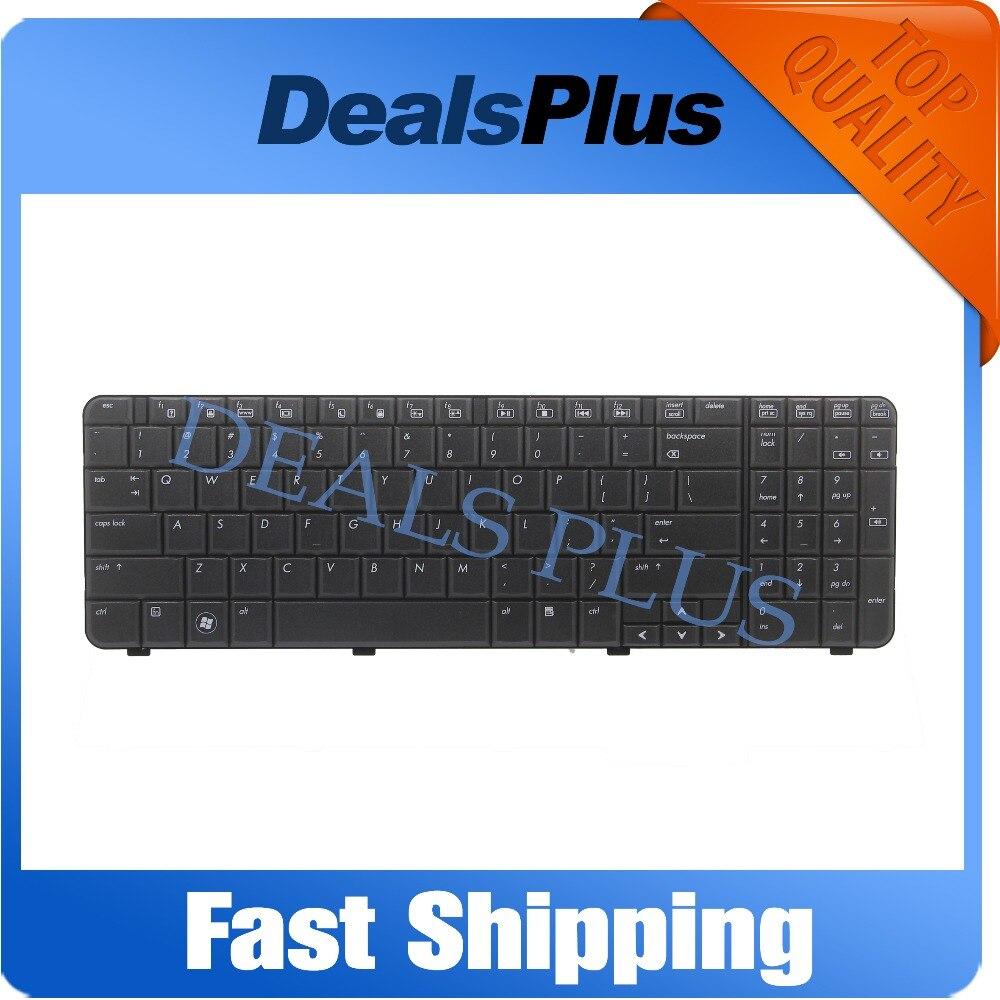 Фирменная Новинка США клавиатура для ноутбука HP Compaq Presario CQ61 G61 CQ61-100 CQ61-200 517865-001 аккумулятор большой емкости AE0P6U00110 US клавиатура черный