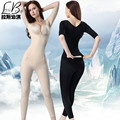 Ультра-тонкий MS дышащий бесшовные после брюки одна часть формирователь похудения одежды рисунок талии живота body shaping underwear