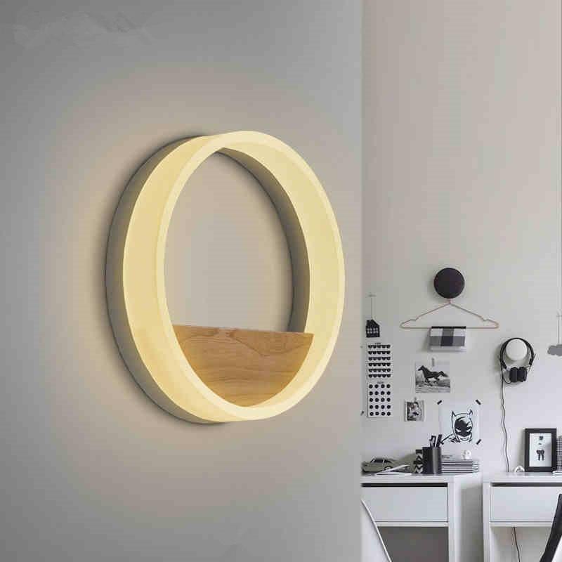 Moderne wandleuchte schlafzimmer wandleuchte licht acryl lampe für - Innenbeleuchtung - Foto 2