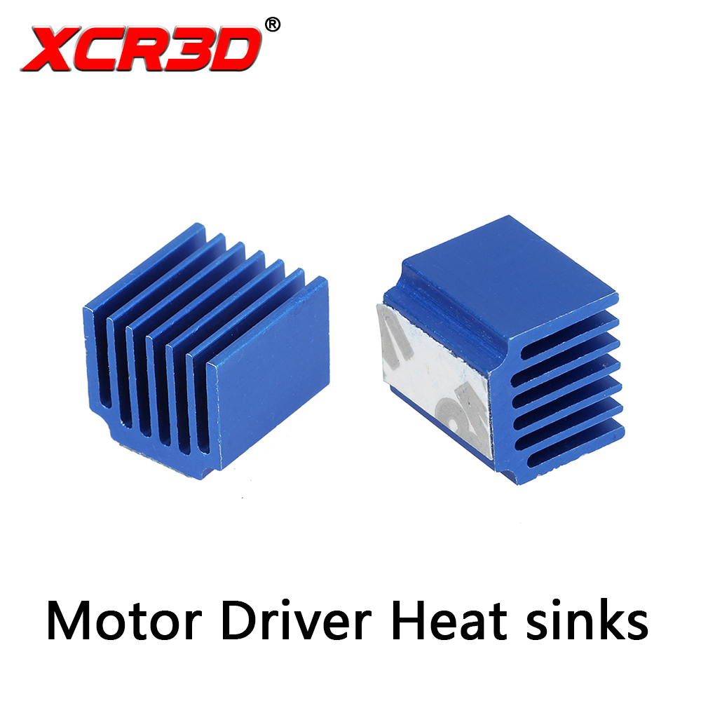 Big Sale XCR3D 3d printer parts Stepper Motor Driver Heat