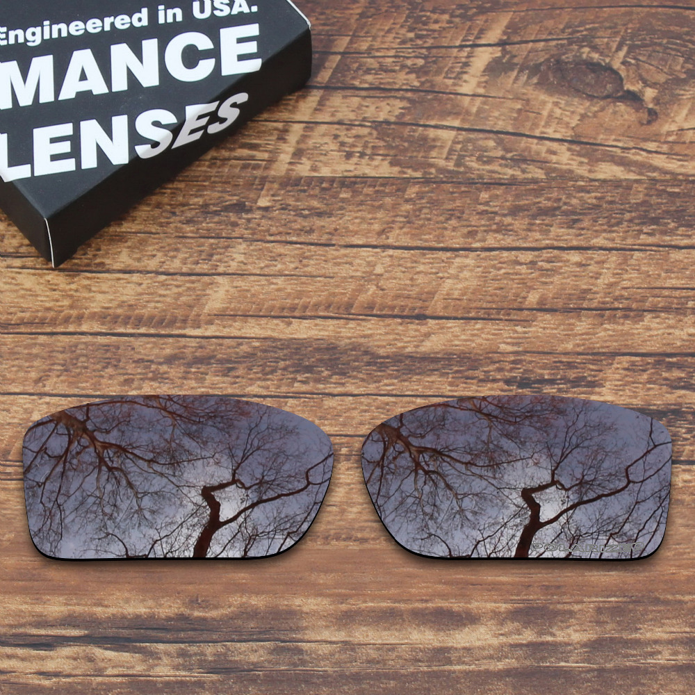 ToughAsNails Resist Seawater Corrosion Polarized Replacement Lenses For Oakley Double Edge Sunglasses Brown