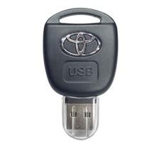 USB Flash Drive Car Key For Toyota 64GB 32GB 16GB 128GB Individuation USB Key Pendrive Card Cartoon USB Memory Stick In Box Gift
