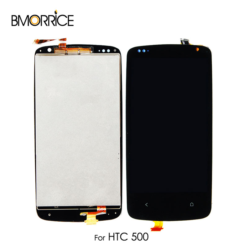 Für <font><b>HTC</b></font> <font><b>Desire</b></font> <font><b>500</b></font> LCD Display Touchscreen Digitizer Glas Panel Monitor Modul Montage Ersatz Kein Rahmen Original 4,3'' image