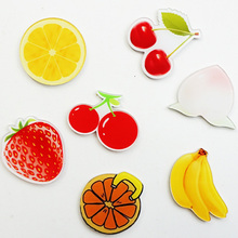 4PCS Japan and South Korea cartoon Icons Acrylic Badges for Backpack Clothes Plastic Badge Kawaii Pin brooch