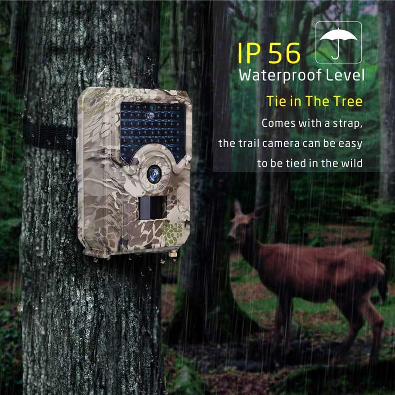 JOYZON HD 1080P Hunting Camera 12MP 49pcs 940nm Infrared LEDs Night Vision Hunting Traps Wildlife Trail Camera Animal Photo Trap