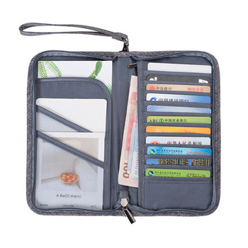 2018 nowy paszport okładka Travel Wallet dokument paszport posiadacz Organizator okładka na paszport kobiety wizytówka posiadacza ID tanie i dobre opinie Akcesoria podróżne 23cm Portfele paszportowe 2 cm 13cm 0 18 kg z bocian 0487 Poliester Oxford Stałe
