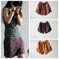Летние женщины шорты большой размер Лето оригинальный хлопок белье тонкие прохладные шорты хлопок maxi шорты