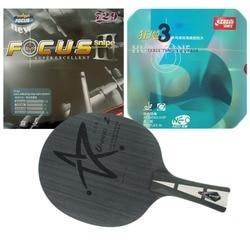 Pro Table Tennis PingPong Combo Racchetta Galaxy YINHE Uranus.2 con 729 FOCUS III snipe e DHS NEO Hurricane3