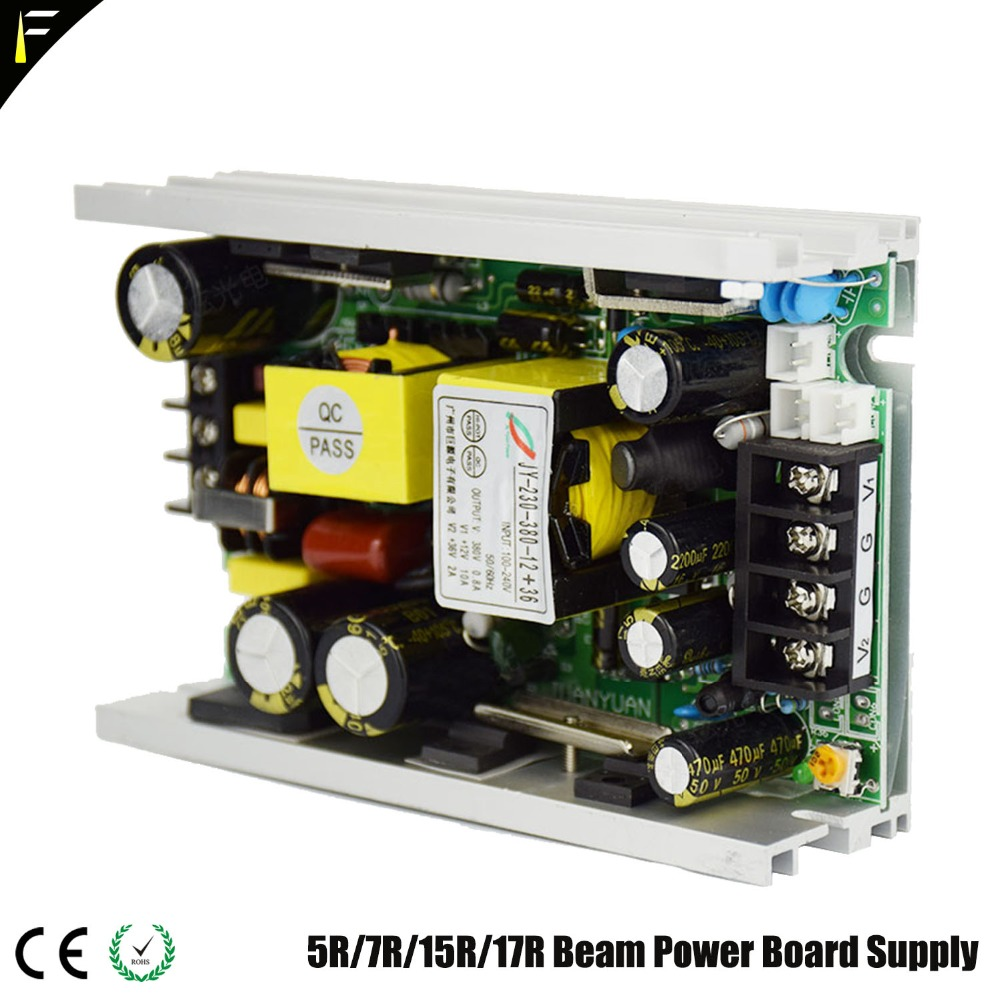 Moving Light Power Board 380v+24v+12v 2R 132W 5R 200W 7R 230W DJ Disco Moving Beam Light Power Board Supply Part Kit Replacement tle7209 2r tle7209r automotive computer board