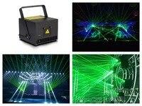 Кейс + зеленый 520nm/3 Вт лазерный свет 3000 МВт анимации стадии мероприятие dj club освещение шоу концерт Вечерние ILDA 20kpps 30kpps DMX