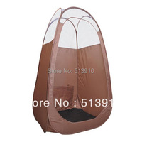 Brown Pop Up Airbrush Sunless Tanning Tent Booth Clear Top/top quality popular in European & American market