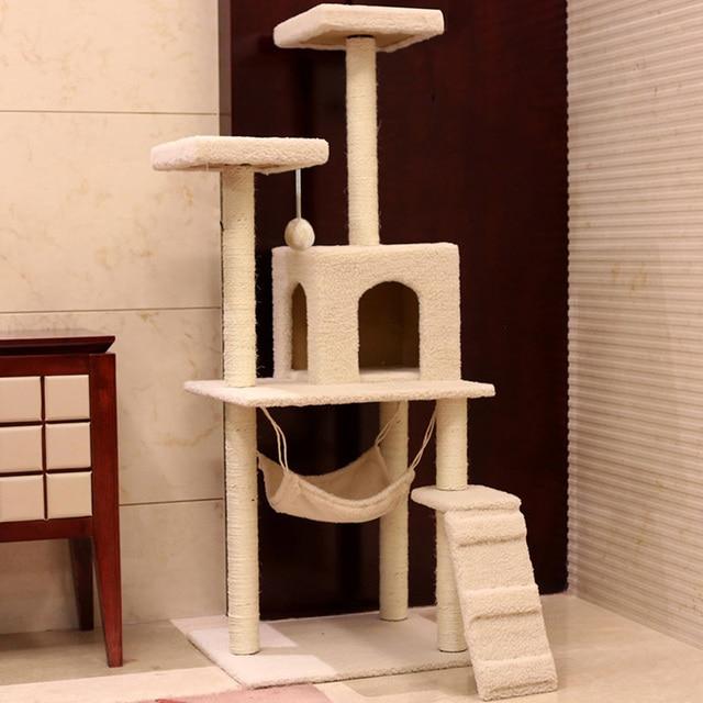 south korea design diy cat tree tower condo scratcher furniture felt cats mini house hammock pet south korea design diy cat tree tower condo scratcher furniture      rh   aliexpress