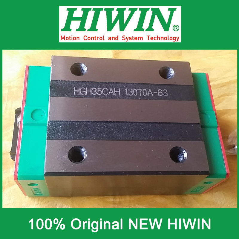 все цены на 1pcs HIWIN HGH35 HGH35CA HG35 New original linear guide block Original HIWIN Linear Guide CNC Parts Stock Good онлайн