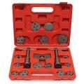 18 Unid Acero Al Carbono Disco De Freno Del Coche De Viento Pinza de Freno Pad Piston Rewind Tool Set Para Más Garaje de Reparación De Automóviles herramientas
