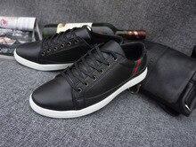 Latest style Skateboarding Sko Boys Black font b sneakers b font men brand shoes Ox Genuine