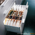Tidy Interiors Solid Wood Dishware Dish Rack Set