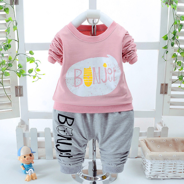 2017 Sale Special Offer Cotton Long Sleeve Baby Clothing Set Spring