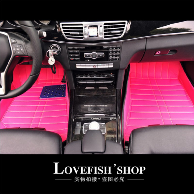 IT IS MY CAR 3pcs/lot girl Floor Mats cool styling for mini IT IS EXPENSIVE
