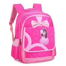 Kids Print Schoolbags for Girls Cartoon Orthopedic Bookbags Backpack Children Princess Primary Escolar Satchel Mochila Infantil sweet print and cartoon design satchel for women
