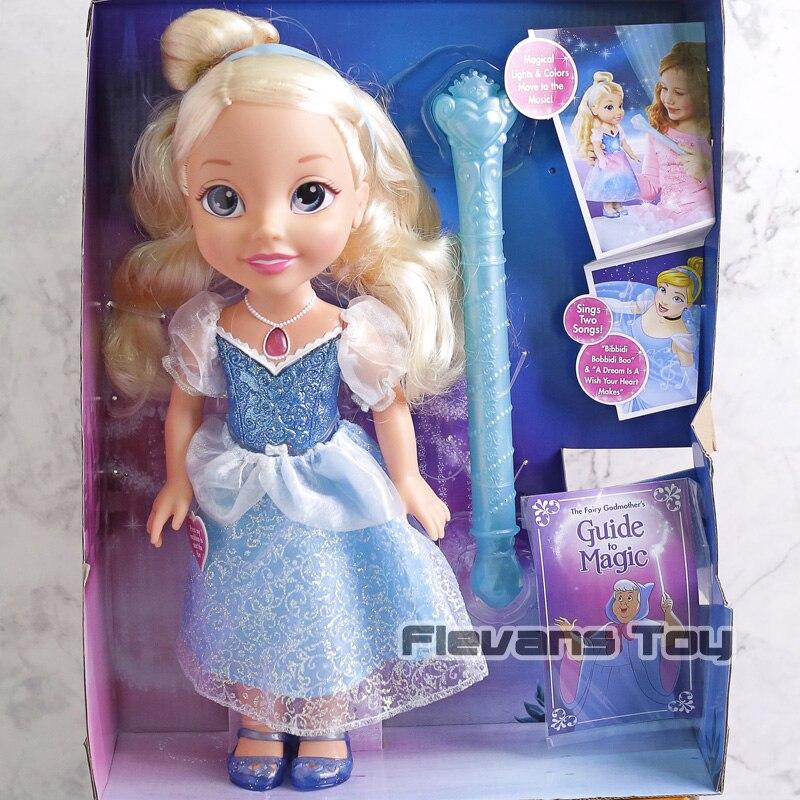 Animatrices Sharon princesse poupées enfant jeune bébé cendrillon poupée avec lumière et son PVC figurines d'action jouet cadeau