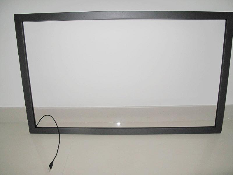 Fast Shipping 42 inch usb multi touch screen overlay panel kit 6 touches USB Without Glass for LED Monitor / LCD Screen